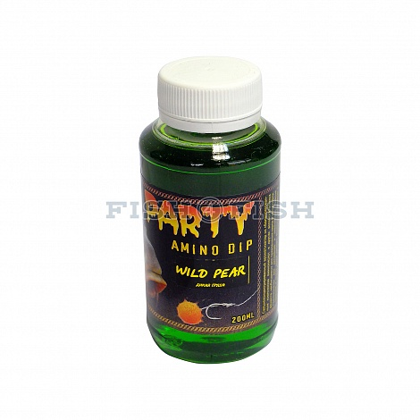 Amino Dip CARP PARTY WILD PEAR (Дикая груша) 200ml OPTIMIST